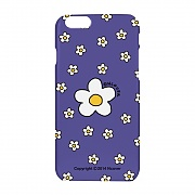 Small flower dot case-purple