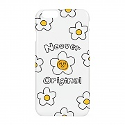 Smile flower case-white