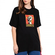 (163082262)OBEY FIST 30 YEARS TEE-BLK
