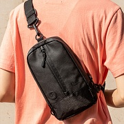 PW Sling waist bag - Black
