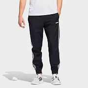 (DZ8488) ESSENTIALS 3-STRIPES WOVEN JOGGERS-BLACK