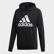 (DQ1461) MUST HAVES BADGE OF SPORT HOODIE-BLACK