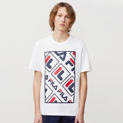 ADAO GRAPHIC TEE-WHITE