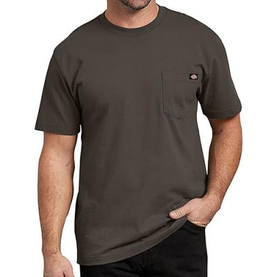 (WS450 BV) HEAVYWEIGHT TEE-BLACK OLIVE