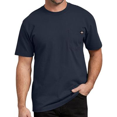 (WS450 DN) HEAVYWEIGHT TEE-DARK NAVY