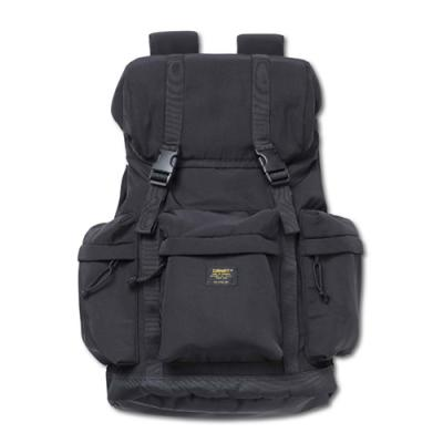 (I026194) MILITARY RUCKSACK BACKPACK-BLK