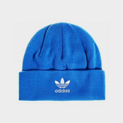 TREFOIL BEANIE-COLLEGIATE ROYAL BLUE/WHITE