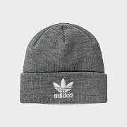 ORIGINALS TREFOIL BEANIE-HEATHER GREY/BLACK
