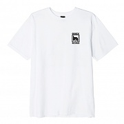 (163082047)OBEY RECORDS ICON TEE-WHT