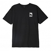 (163082047)OBEY RECORDS ICON TEE-BLK