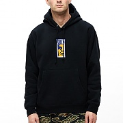 (112470069)OBEY SLIM ICON HOOD-BLK