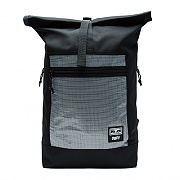 (100010115)CONDITIONS ROLL TOP BAG II-BLK