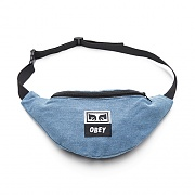 (100010098)WASTED HIP BAG-DENIM