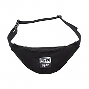 (100010098)WASTED HIP BAG-BLK TWILL