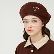 REVERSIBLE FLEECE BERET_brown