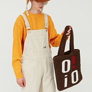 SHEARLING ECO BAG_brown