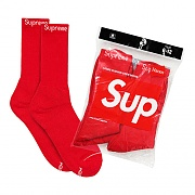 HANES CREW SOCKS 1PACK-RED (4EA)