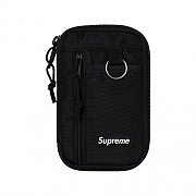SMALL ZIP POUCH-BLACK