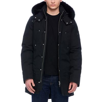 (MK4661MP_291) 스틸링 남자패딩 MENS STIRLING PARKA-BLACK (blk fur)