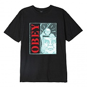 (163082133) OBEY SKELETON BASIC TEE-BLK