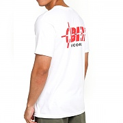 (163082148) OBEY RECORDS B SIDE BASIC TEE-WHT