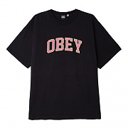 (166912135) OBEY ACADEMIC 2 HEAVYWEIGHT CLASSIC BOX TEE-OBK