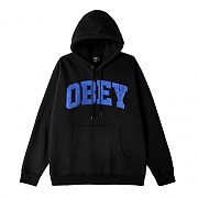 (112470077) OBEY UNI HOOD SPECIALTY FLEECE-BLK