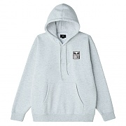 (112842142) OBEY EYES ICON 2 BOX FIT PREMIUM HOOD FLEECE-HAS