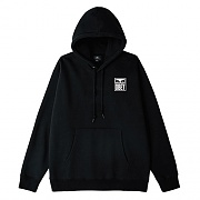 (112842142) OBEY EYES ICON 2 BOX FIT PREMIUM HOOD FLEECE-BLK