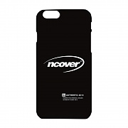 Quarter ellipse logo case-black