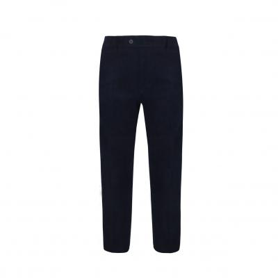 Corduroy Span Slim Fit Pants NAVY