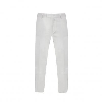 Corduroy Span Slim Fit Pants IVORY