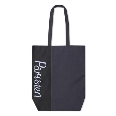Parisien Tote Bag-Navy/Black