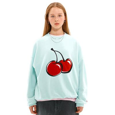 BIG CHERRY SWEATSHIRT JS [LIGHT MINT]
