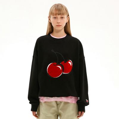 BIG CHERRY SWEATSHIRT JS [BLACK]