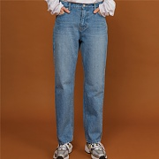 easy wide denim light Blue