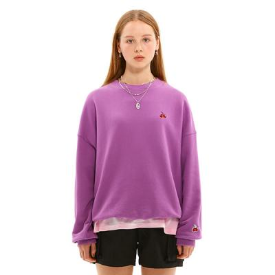 SMALL CHERRY SWEATSHIRT JS [PURPLE]