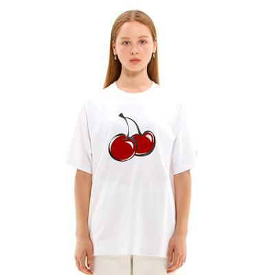 BIG CHERRY T-SHIRTS JS [WHITE]