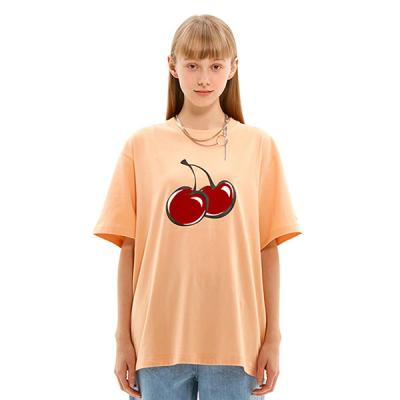 BIG CHERRY T-SHIRTS JS [LIGHT ORANGE]