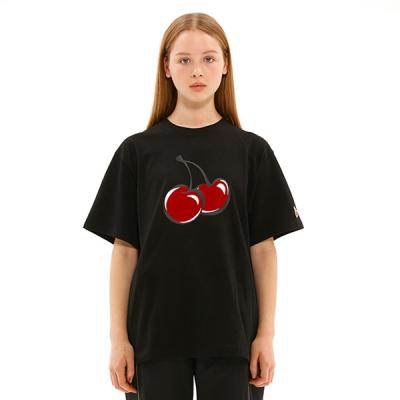 BIG CHERRY T-SHIRTS JS [BLACK]