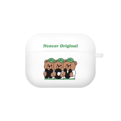 Ncv alphabet bruin-white(airpods pro jelly)