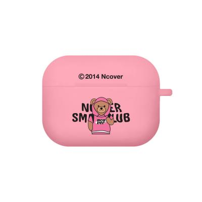 Hoodie bruin-pink(airpods pro jelly)