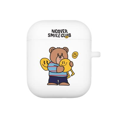 Smile ball bruin-white(airpods jelly)