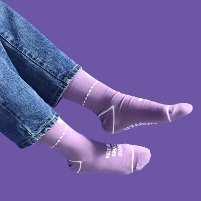 Smile club socks-light purple