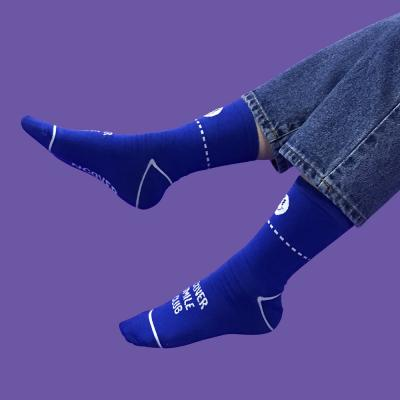 Smile club socks-blue