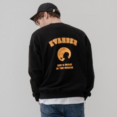 EVANDER SWEAT SHIRT-블랙