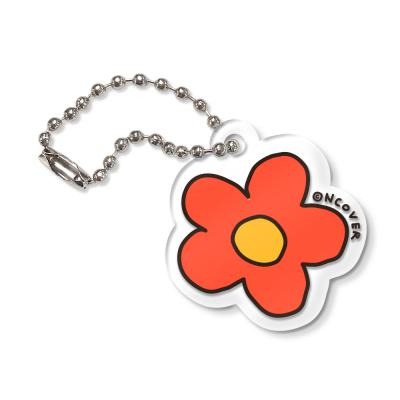 Flower-orange(key ring)