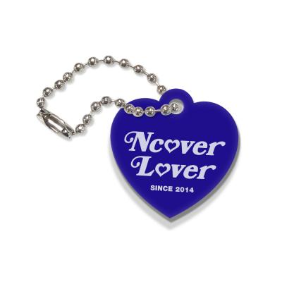Heart lover-blue(key ring)