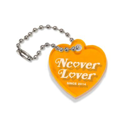 Heart lover-orange(key ring)