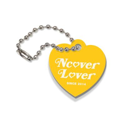 Heart lover-yellow(key ring)